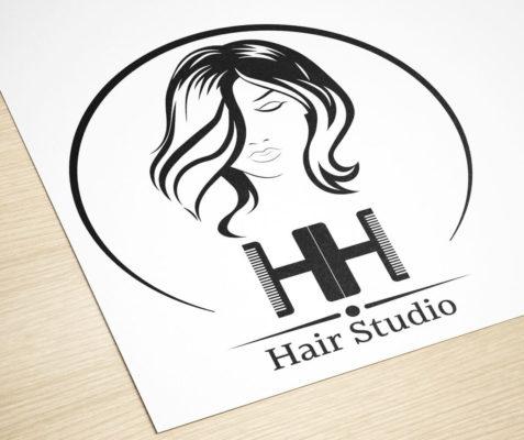hair studio логотип