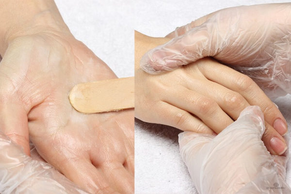 Укутывание рук для теплового эффекта