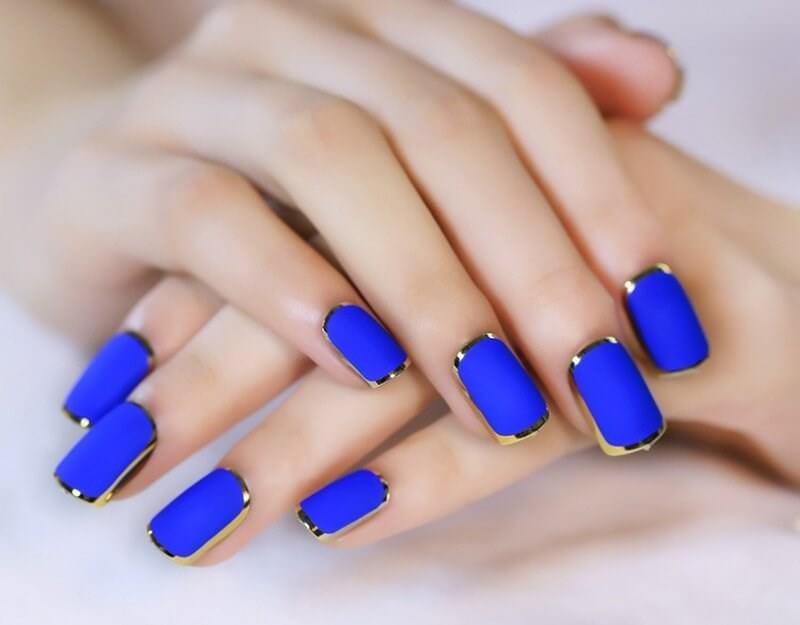 Идеи дизайнов в синих тонах
