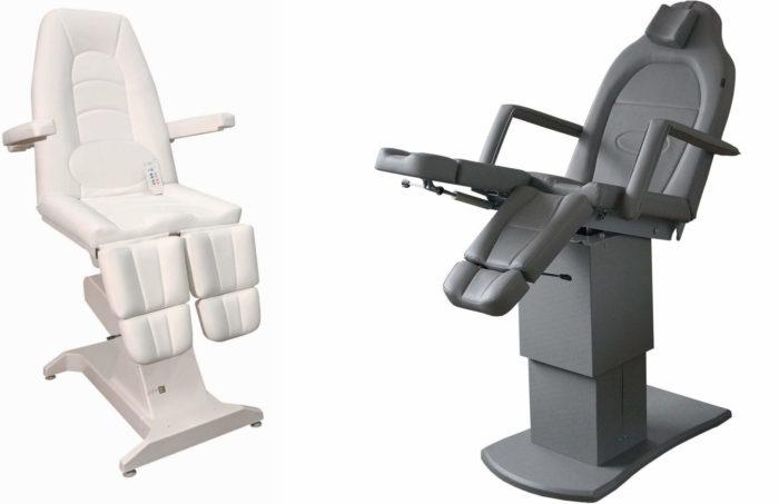 Педикюрное кресло с электроприводом и пультом