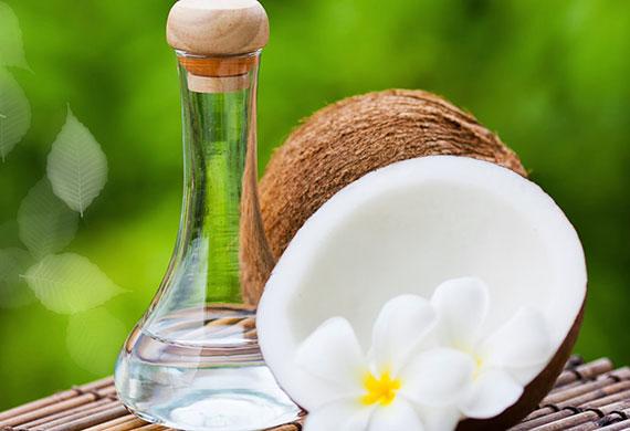 как отбелить ногти с кокосовым маслом