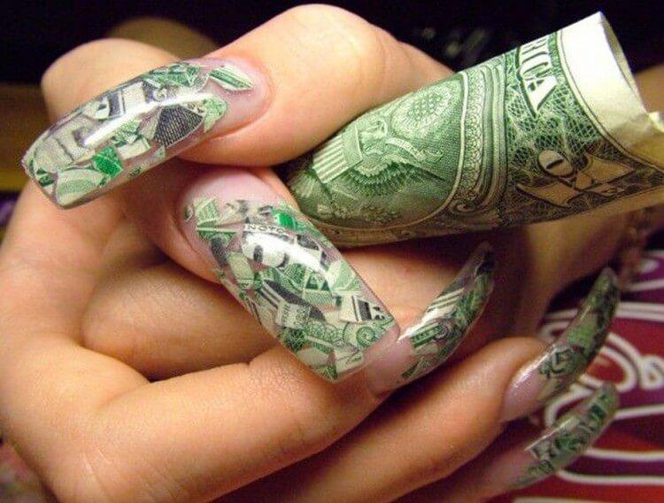 Как привлечь деньги маникюром фен-шуй
