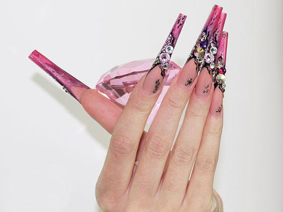 Как снять акриловые ногти дома