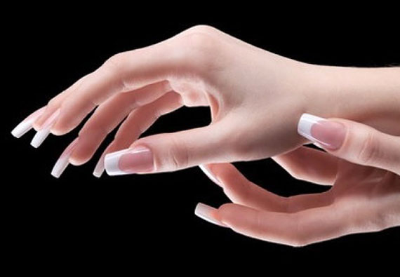 Как снять нарощенные ногти гелем
