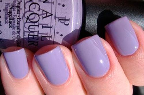 Фиолетовый Лак для ногтей