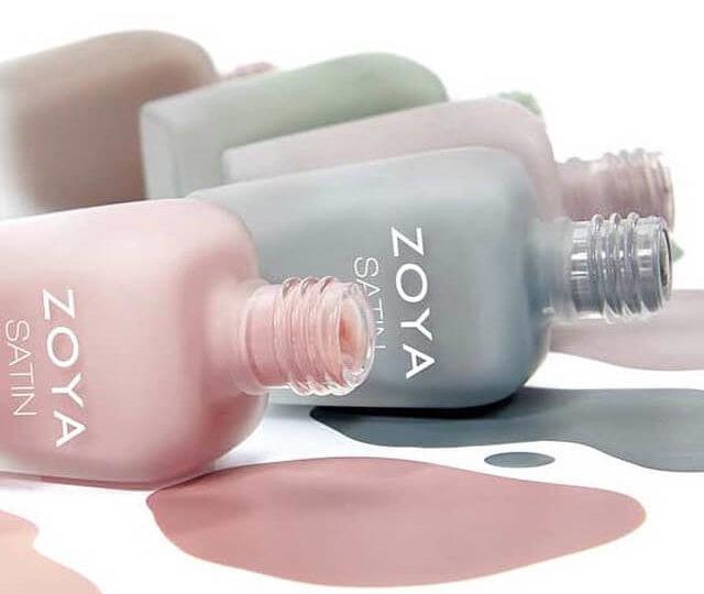 Натуральные составы лаков Zoya