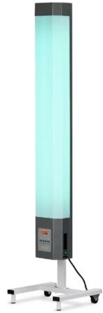 Закрытая бактерицидная установка