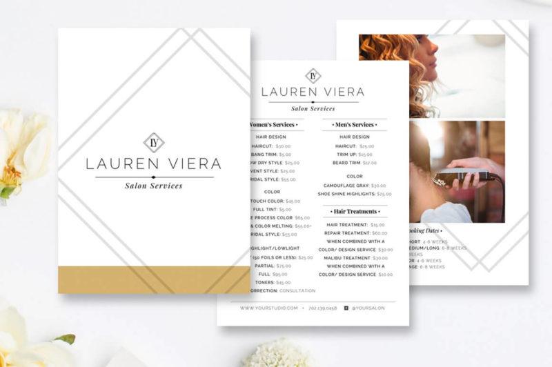 Прайс-лист Lauren Viera