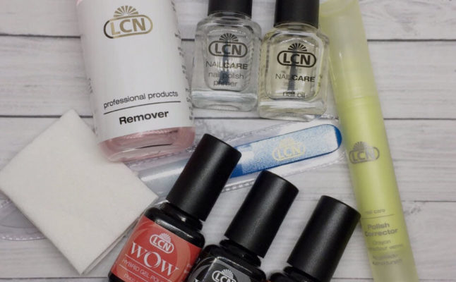 Средства LCN для ногтей