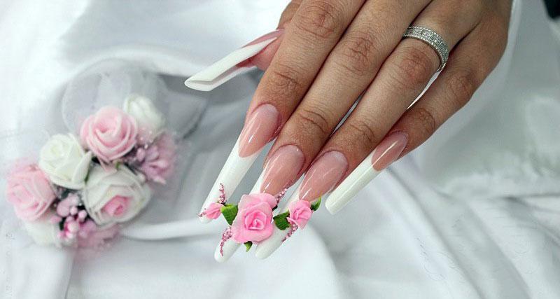 Как сделать акриловую лепку на ногтях