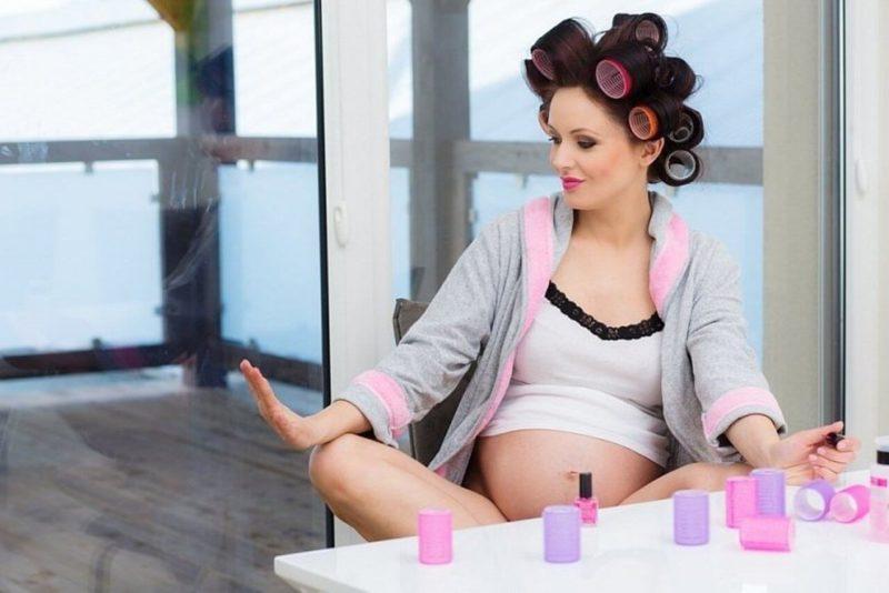 Маникюр во время беременности