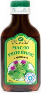 Репейное масло для ногтей