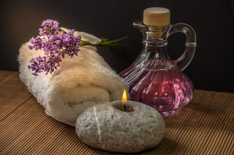 Массаж при ароматерапии