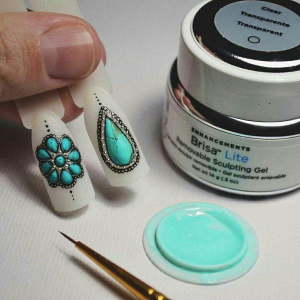Материалы для выполнения жидких камней на ногтях