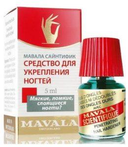 Mavala Scientifique для укрепления ногтей