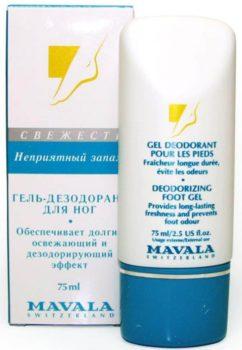 Гель дезодорант от компании Malava с экстрактом цитрусовых