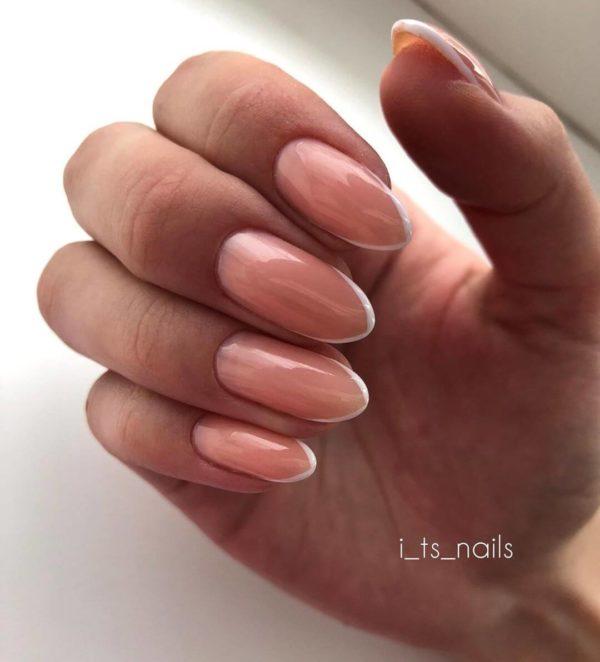 Микрофренч на длинные ногти