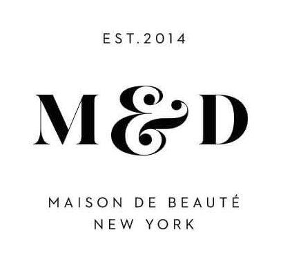 логотип пример салон MLD
