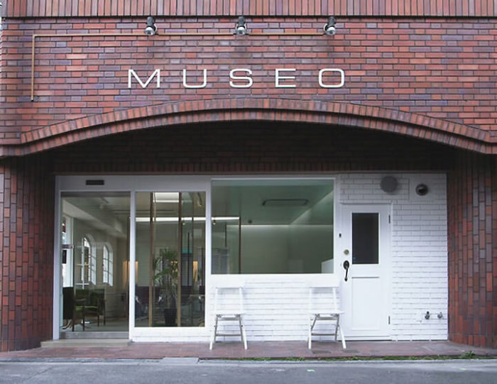 Входная группа салона красоты Museo