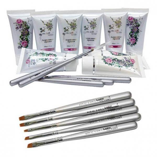 Краски и материалы для росписи