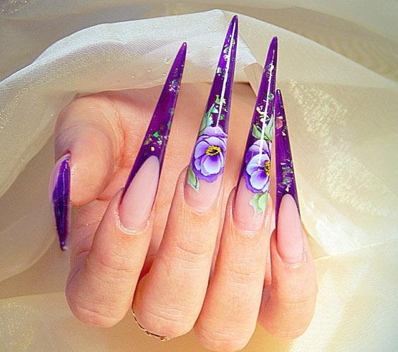Наращивание ногтей гелем-01