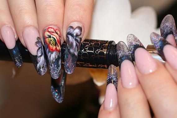 Наращивание ногтей на дому гелем