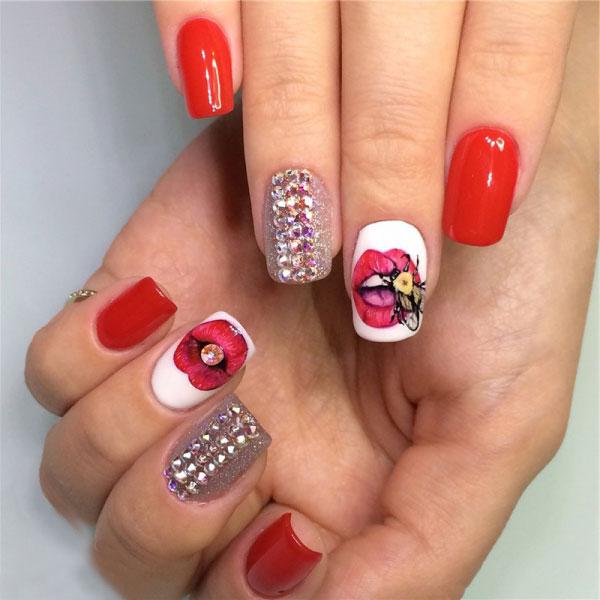 Инкрустация ногтей