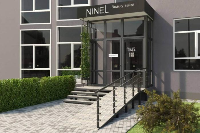Входная группа салона NINEL