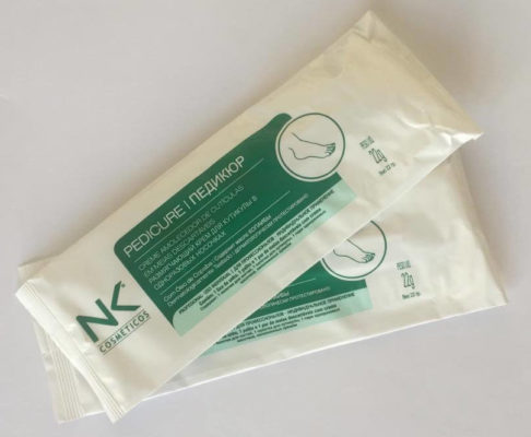 Набор для СПА педикюра от NK Cosmetic