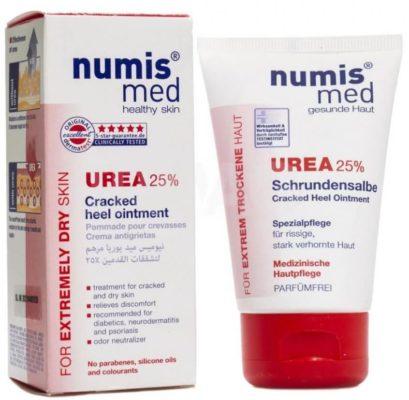 Numis Med Cream With 25% urea крем для ног с мочевиной