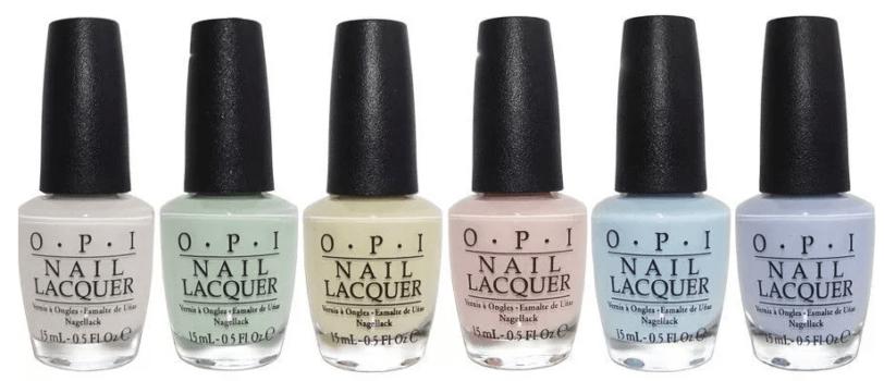 Оттенки бренда OPI