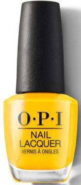 Желтый лак OPI