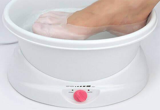 Ванна для парафинотерапии ног