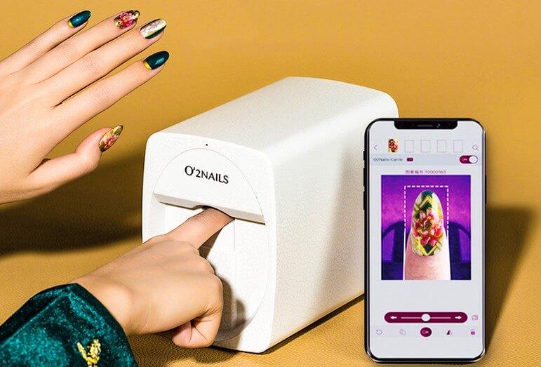 Как работает принтер для ногтей