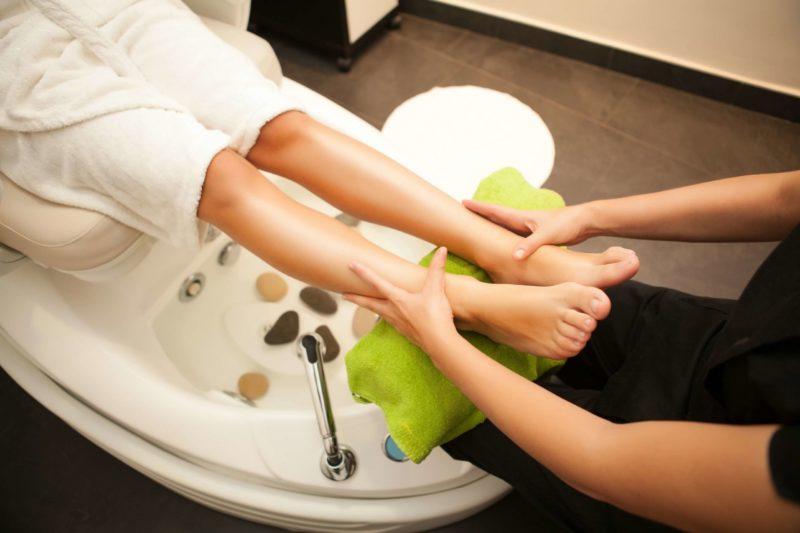 Педикюрный массаж ног
