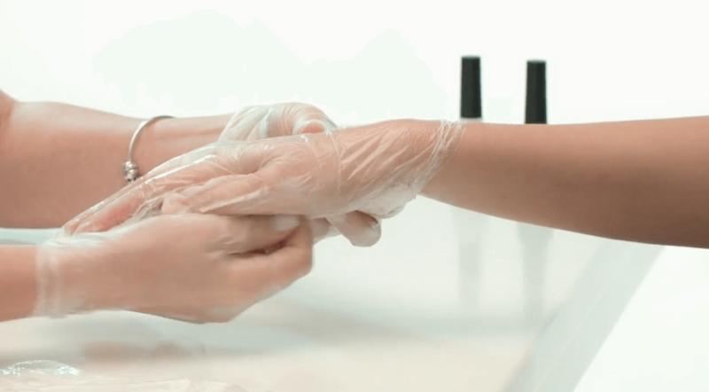Использование специальных перчаток