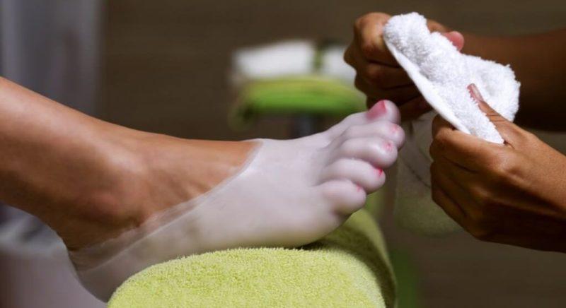 Польза парафинотерапии для ног
