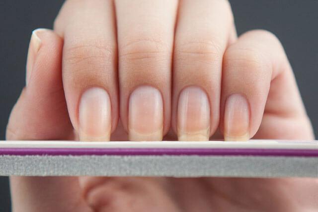 Прямоугольные ногти