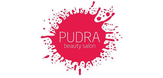 Логотип салона красоты Пудра