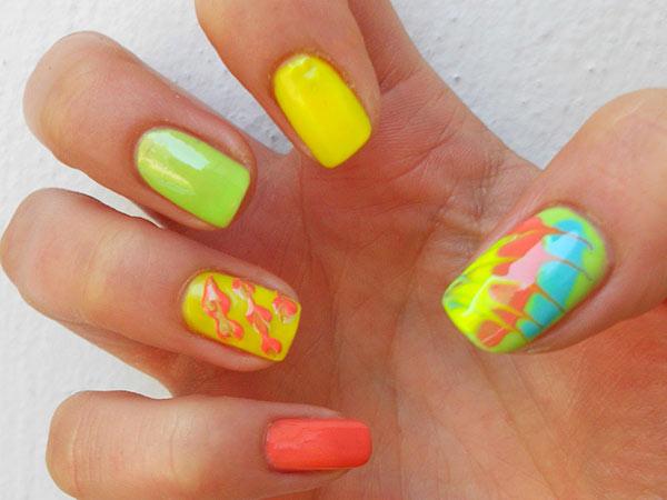 Советы - как рисовать на ногтях иголкой