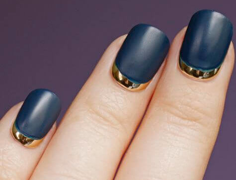 Руффиан классика на короткие ногти