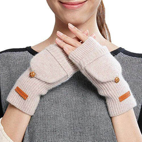 Теплые рукавицы для защиты рук зимой