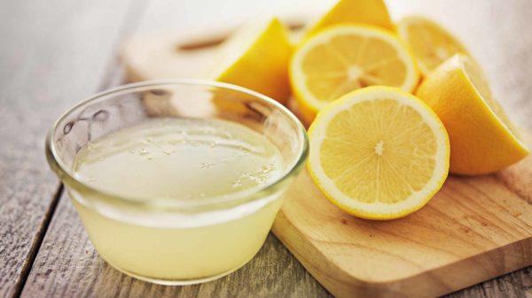 Ванночка для ног с лимоном
