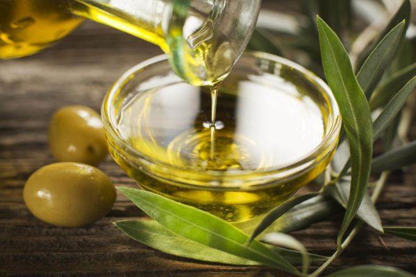 Маска с оливковым маслом