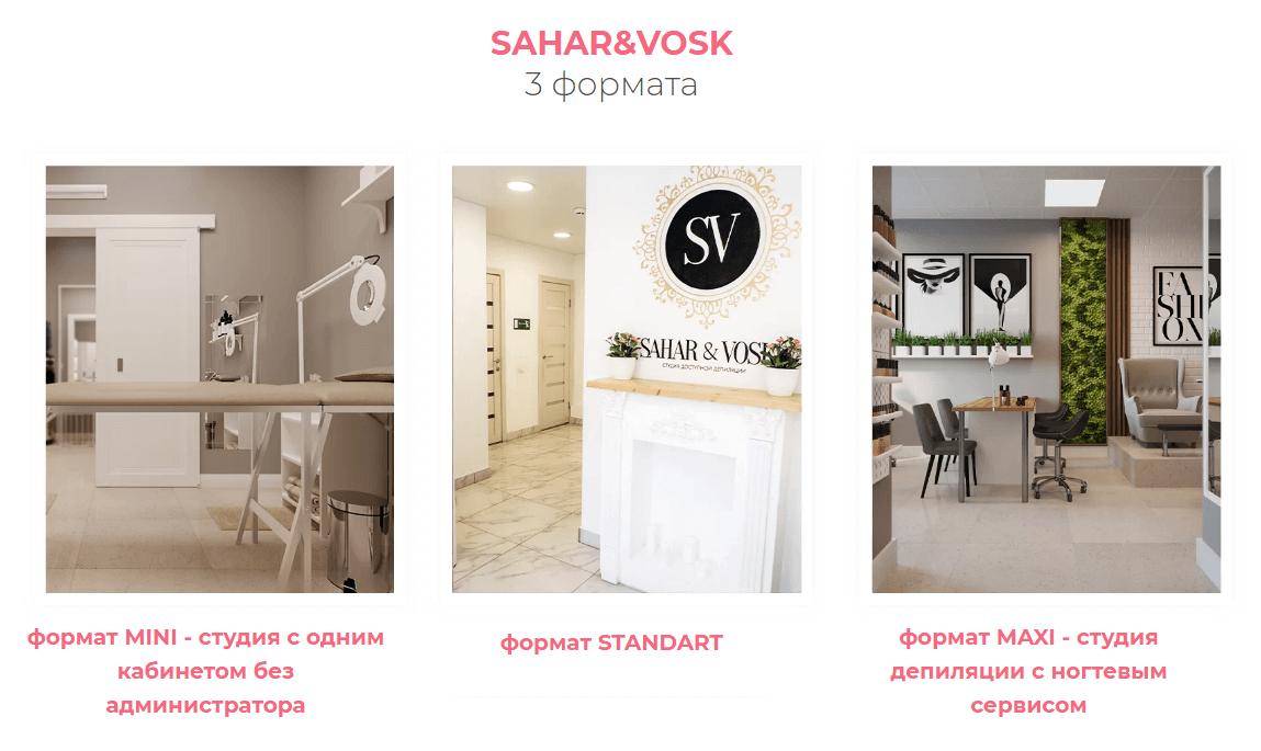 Форматы SAHAR&VOSK