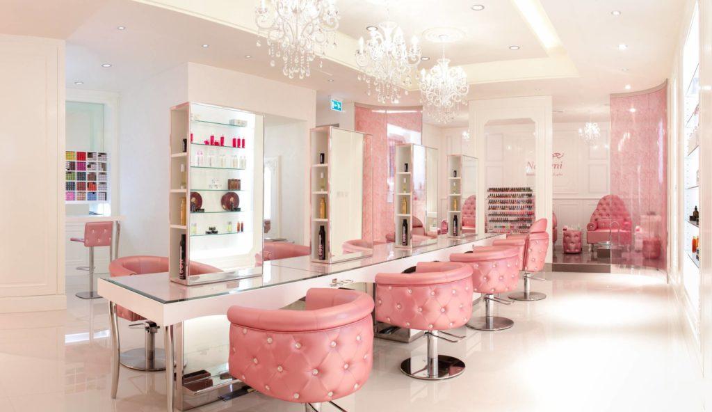 Дизайн интерьера салона красоты в ОАЭ