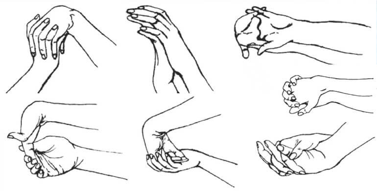 Как делать самомассаж рук