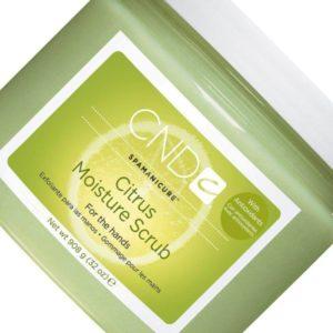 Скрабирование кожи с помощью Citrus Moisture Scrub