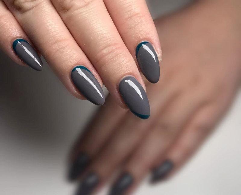 Темно серый руффиан