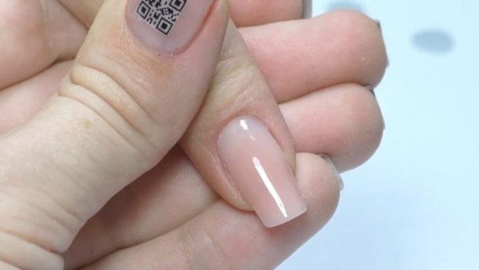 Завершенный вид ногтя